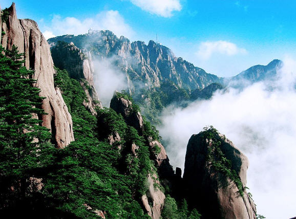 Top 5 Ancient Mountains in China